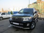 Защита переднего бампера с защитой картера 76 мм (FBU4NJ2076P12) для Toyota Land Cruiser 200 2012 -