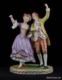 Романтическая пара, Potschappel, Германия, нач.-сер. 20 века