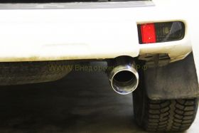Насадка на глушитель (Тип 2) для Toyota Land Cruiser Prado 150