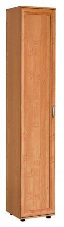 №114. Узкий шкаф с пятью полками  2180x400x390мм ВxШxГ