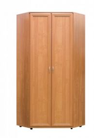№146. Угловой шкаф для одежды  2180x945/945x390/390мм ВxШxГ