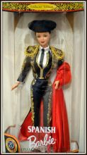 коллекционная кукла Барби Испанка - Spanish Barbie Doll