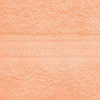 Махровое однотонное полотенце.