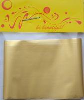 Фольга для дизайна ногтей, литья (переводная). Цвет: матовая золото (Размер: 4см на 1 метр)