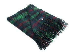 Плед, 100 % стопроцентная шотландская овечья шерсть, расцветка клана Росс