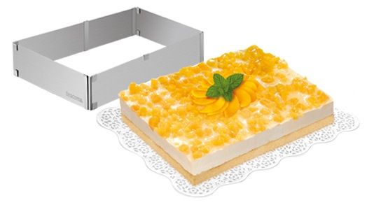 Форма  для торта и кекса раскладная  прямоугольная Tescoma DELICIA 623382
