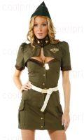 Армейский костюм женский