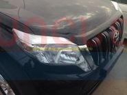 Хромированные накладки (Реснички) на переднею оптику для Toyota Land Cruiser Prado 150 2013 -