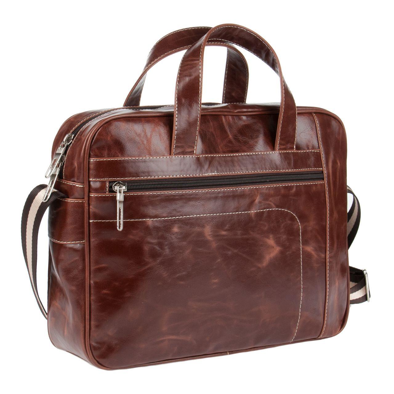 8b83270c8a84 Коричневая мужская сумка - Купить мужскую коричневую сумку