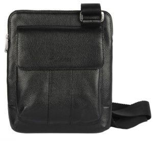 Мужская сумка с внешними карманами