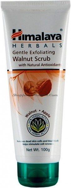 Мягкий скраб для лица Грецкий орех&Яблоко Хималая / Himalaya Gentle Exfoliating Walnut Scrub