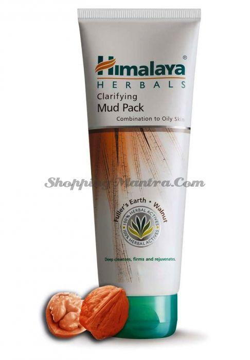 Очищающая маска Лечебная глина&Грецкий орех Хималая / Himalaya Clarifying Mud Pack