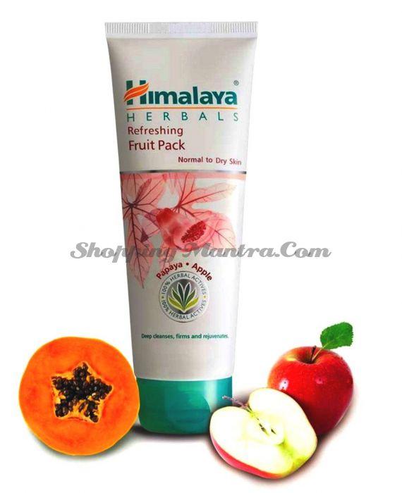 Освежающая фруктовая маска Папая&Яблоко Хималая / Himalaya Refreshing Fruit Pack