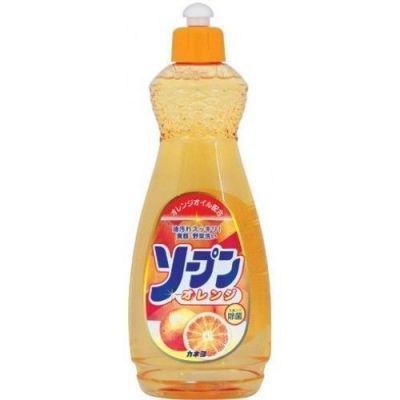 """270913 Жидкость для мытья посуды  """"Kaneyo - сладкий апельсин"""", 600 мл"""