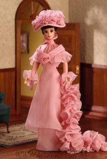 "Коллекционная кукла Барби как Элиза Дулиттл в фильме ""Моя прекрасная Леди"" - Barbie Doll as Eliza Doolittle from My Fair Lady in Her Closing Scene"