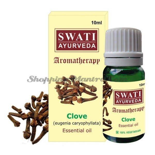 Эфирное масло Гвоздика Свати Аюрведа / Swati Ayurveda Clove Essential Oil