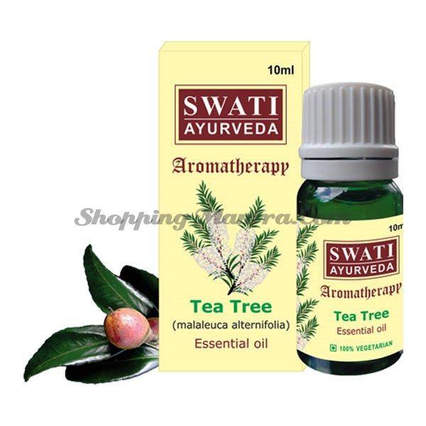Эфирное масло Чайное дерево Свати Аюрведа / Swati Ayurveda Tea Tree Essential Oil