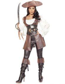 Костюм пиратки в легинсах