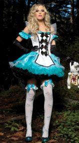 Костюм Алисы с пышной юбкой