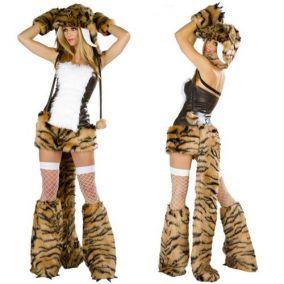 Карнавальный костюм саблезубого тигра