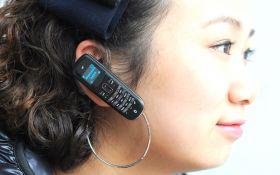 Телефон  Bluetooth-гарнитура