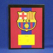 "Тетрадь 12л., линейка ""Барселона Logo"" 1/192 (арт. М1104045) (30371)"