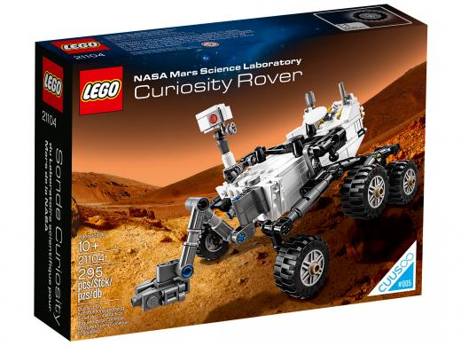 Марсоход MSL Curiosity Конструктор ЛЕГО 21104