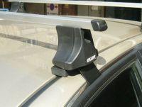 Багажник на крышу Hyundai Sonata, Атлант, прямоугольные дуги