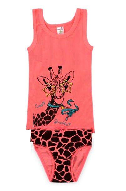 Нижнее белье для девочки Жираф