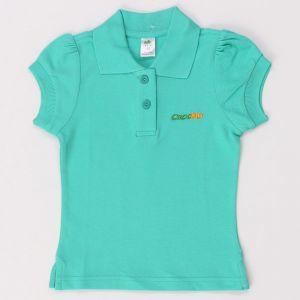 Бирюзовая блузка Crockid