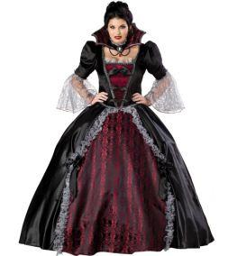 Пышное платье королевы вампиров