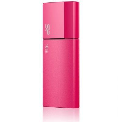 8GB USB-флэш накопитель Silicon Power U05 мет красный выдвижной