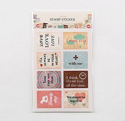"Набор наклеек ""Ancien Stamp Sticker"" - Feeling"