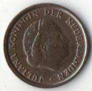 1 цент. 1970 год. Нидерланды.