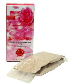 Аюрведическая маска для лица Роза Для сияния лица