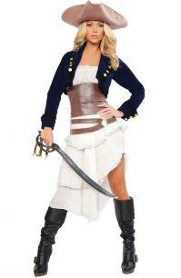 Костюм современной пиратки