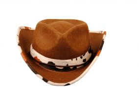Ковбойская шляпа с оконтовкой