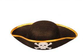 Пиратская шляпа лодачка