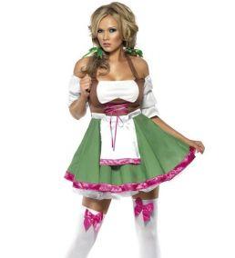 Каранвальный костюм соблазнительной баварки