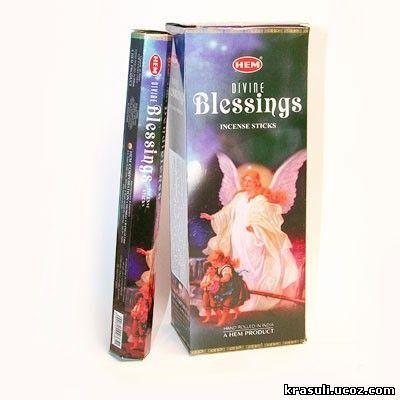 благовония HEM Hexa DIVINE BLESSINGS Божественное благословение