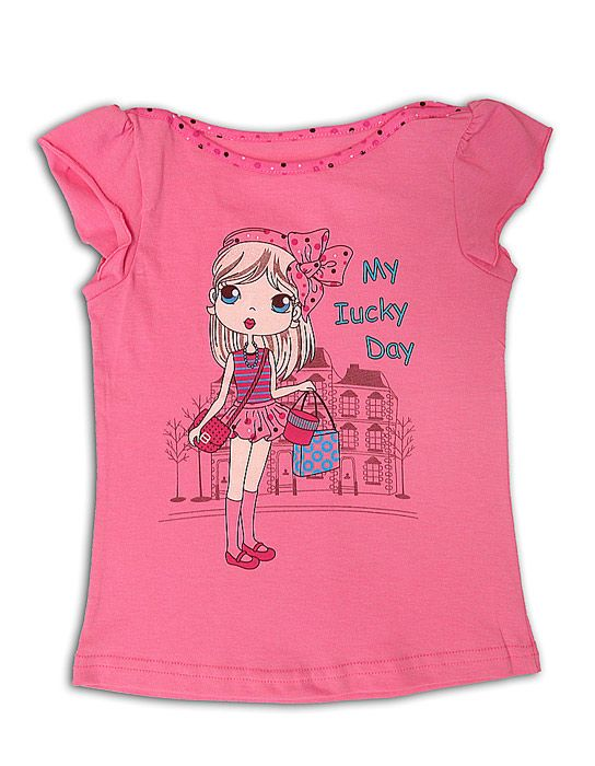 Блуза для девочки Счастливый день