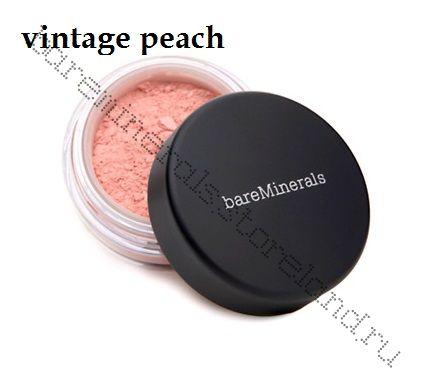 bare Minerals Bare Escentuals Blush Румяны vintage peach