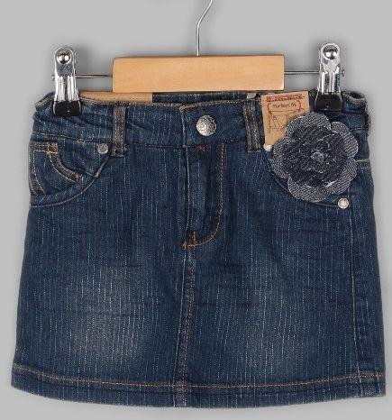 Юбка джинсовая - стрейдж