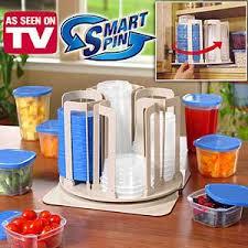 Контейнеры для еды с подставкой вертелом smart spin