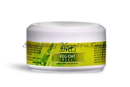 Маска для лица против рубцов, шрамов и пигментных пятен Джовис / Jovees Veg Oat Peel
