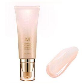 MISSHA M SIGNATURE REAL COMPLETE BLENDING PRIMER 45ml - увлажняющая основа под макияж с эффектом свечения