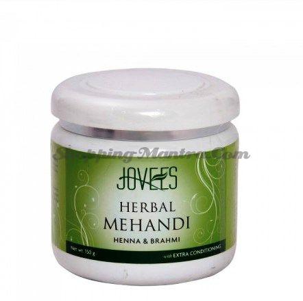 Маска для укрепления и объема волос Хна&Брахми Джовис / Jovees Henna&Brahmi Mehandi