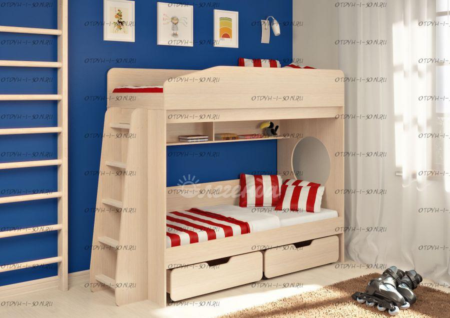 Кровать двухъярусная Легенда-10.2