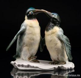 Императорские пингвины, Karl Ens, Германия, 1950 гг., артикул 10526
