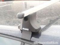 Багажник на крышу Volkswagen Golf, Атлант, прямоугольные дуги